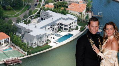 Het mag wat kosten: Tom Brady huurt indrukwekkende villa van 13 miljoen euro in Florida