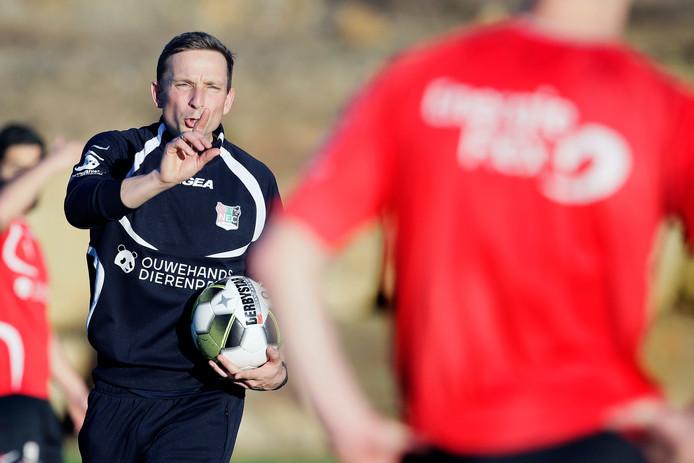 NEC-trainer Pepijn Lijnders.