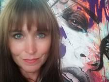 Kunstenares Femke uit Alphen doet mee aan tv-programma Sterren op het doek