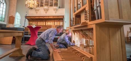 Zwervend kerkorgel is beland in Kapelle; 'Dat kleintje heeft best een grote bek'