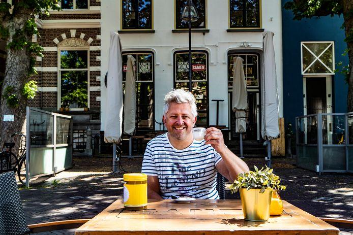 Martijn Gerretsen is uitbater van o.a. Café Samen en De Tijd.