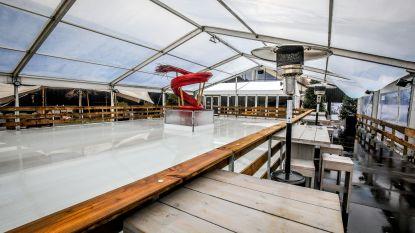 """Organisatoren zijn tevreden na eerste Winterbar Hygge, maar zien het grootser: """" Winterwonderland  en zwevend terras boven vijver"""""""