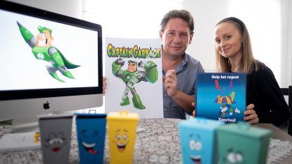 Nijlense superheld Captain Garbage leert kinderen recycleren