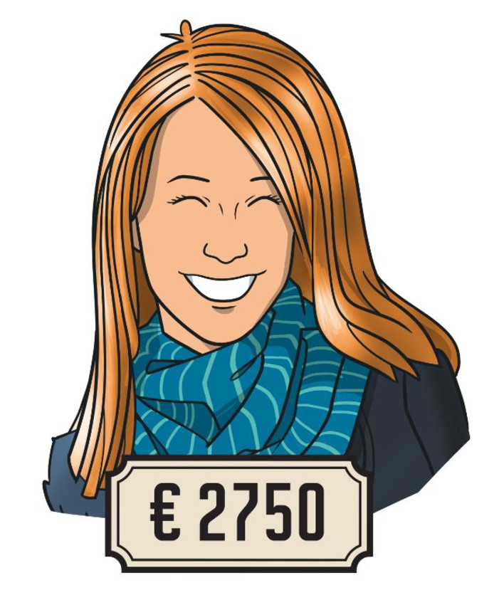 Dionne (27) is sinds een week freelance online marketeer.