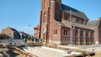 """Groot bufferbekken voor regenwater  op Sint-Agathaplein: """"Kan 50.000 liter regenwater opslaan"""""""