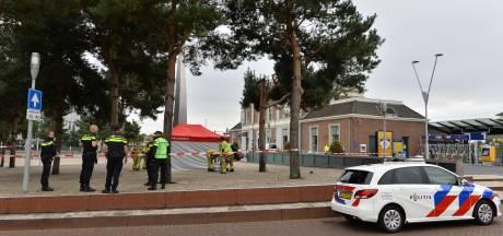 Man overlijdt op bankje onder standbeeld De Kus in Apeldoorn, 'natuurlijke dood'
