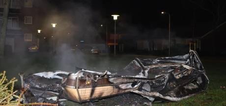 Caravan in brand gestoken in Kerkdriel, zoveelste brand na oud en nieuw