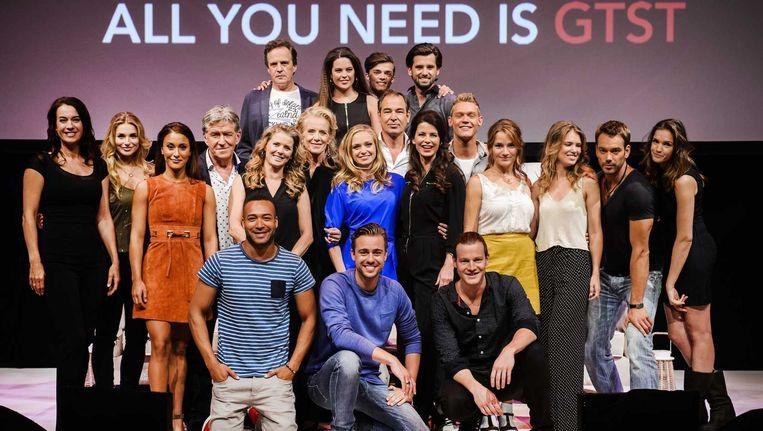 De cast van GTST. Beeld anp