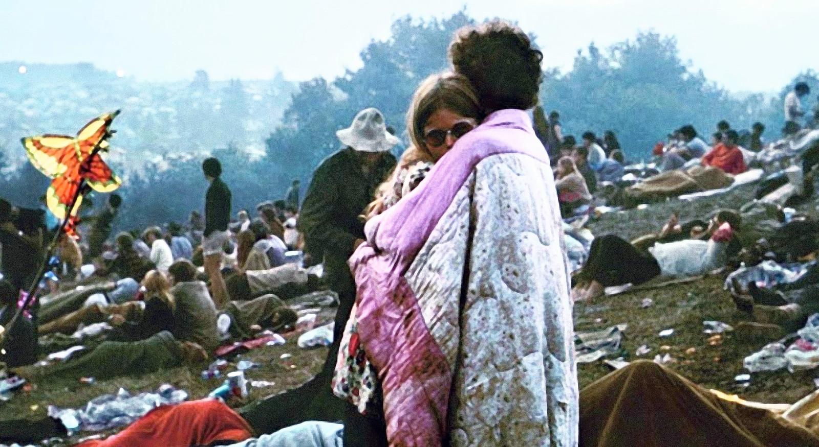 Een beeld van Woodstock