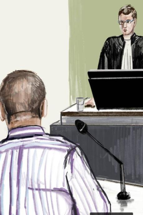 Eis: 20 jaar cel voor Mimoun H. voor doden echtgenote en brandstichting