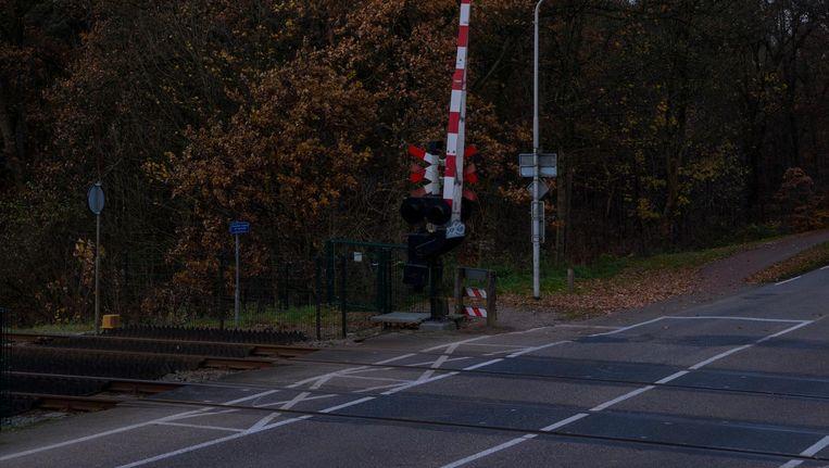 De spoorwegovergang in Nijmegen. Beeld Tom Janssen
