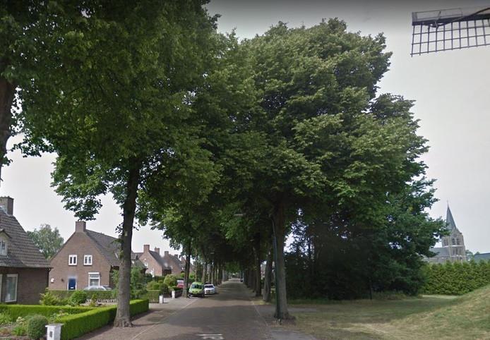 De Molenstraat in Zeeland.
