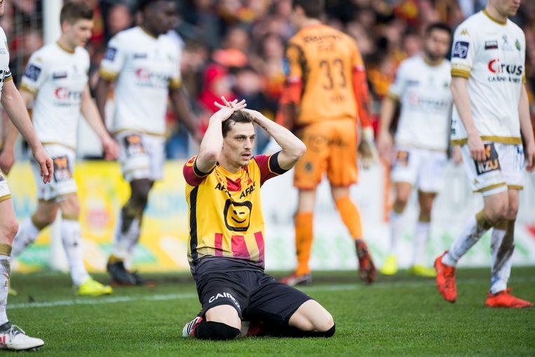 Nicolas Verdier miste grote kansen om KV Mechelen toch in eerste te houden.