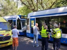 Kop-staartbotsing trams Marnixplein
