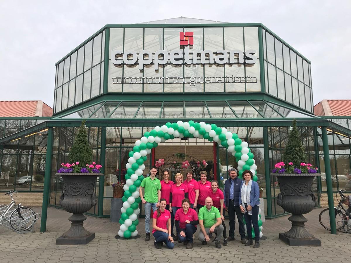 Medewerkers van Coppelmans Deurne vieren dit weekend feest.