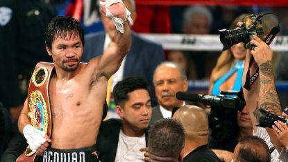 Manny Pacquiao bokst op 14 juli om wereldtitel tegen Argentijn Lucas Matthysse