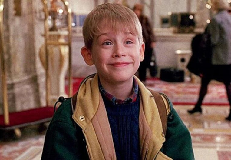 Kevin McCallister (Macaulay Culkin) in Home Alone 2: Lost in New York