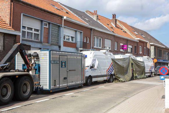 In september vorig jaar vond een reconstructie van het drama plaats in de Driesstraat in Teralfene.