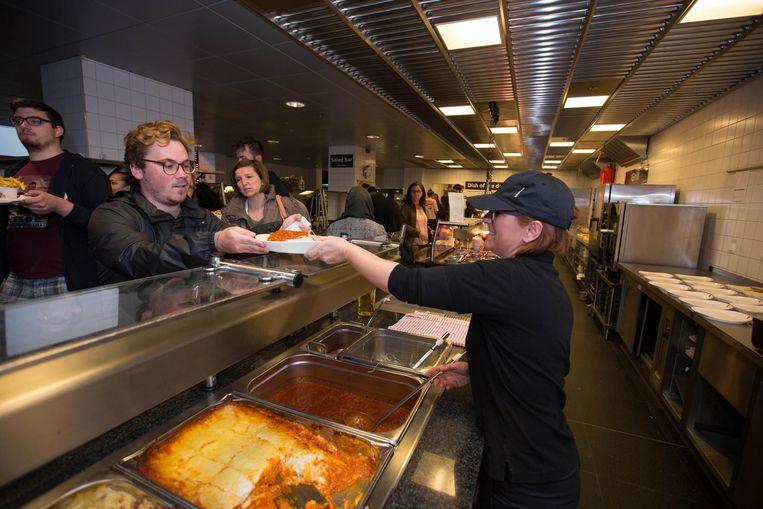 Het restaurant van de PXL is enorm populair. Ze moeten er zelfs studenten weigeren.