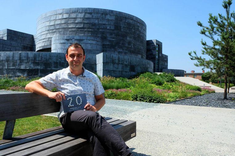 Programmator van 't Blikveld Sam Vervoort mocht vorig jaar de twintigste verjaardag van 't Blikveld vieren.