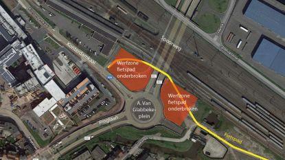 Fietsers moeten vanaf maandag omrijden door afsluiten fietstunnel