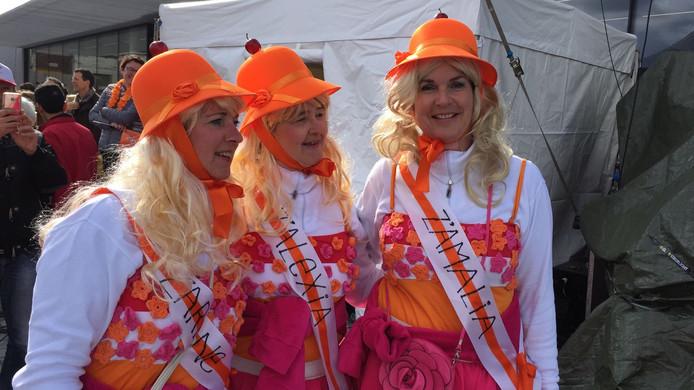 'De prinsesjes' Eugenie, Ans en Jeanne uit Tilburg