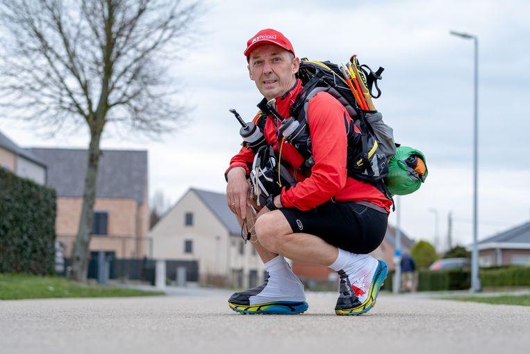 BOOISCHOT Dirk Viskens neemt deel aan de Marathon des Sables