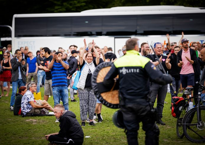 Demonstranten op het Malieveld. Foto ter illustratie.