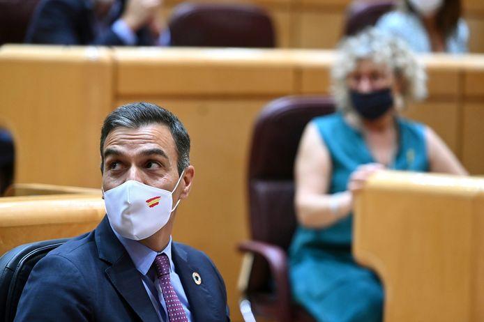 De Spaanse premier Pedro Sanchez noemt de spionagezaak 'erg zorgwekkend'.