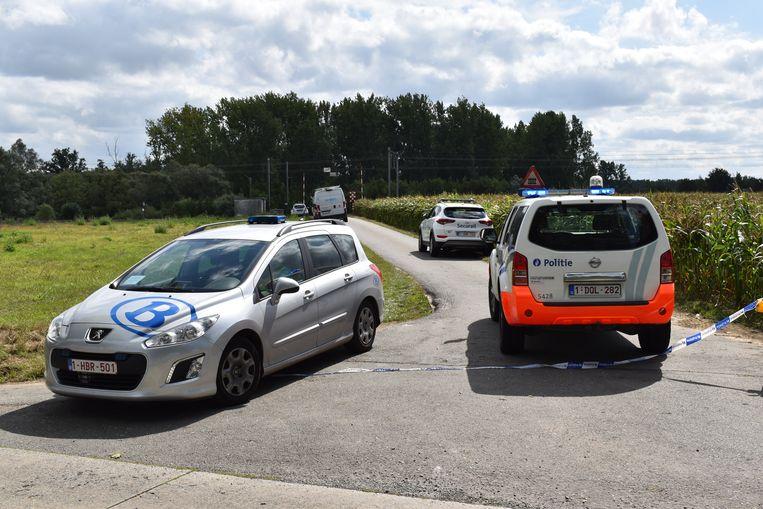 Het persoonsongeval gebeurde aan de spooroverweg in Nuchten.