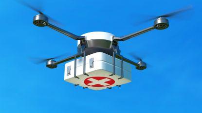 """Dronevluchten tussen ziekenhuizen starten eind september: """"Wekelijks weefsel en bloed vervoeren"""""""