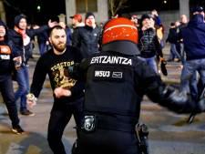 Agent overlijdt bij voetbalrellen in Bilbao