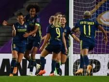 Olympique Lyon pakt met invaller Van de Sanden vijfde Champions League-zege op rij