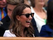 Kate Middleton, hilare à Wimbledon
