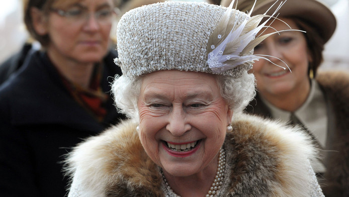 Koningin Elisabeth.