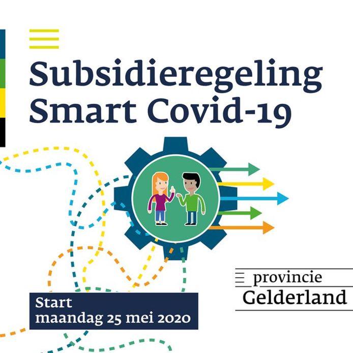 Het logo van de Smart-regeling van provincie Gelderland.