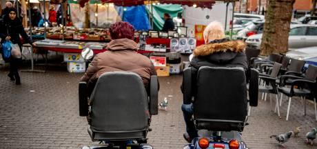 Scootmobieltocht in Boxmeer gaat niet door: geen reparatiewagen voor handen