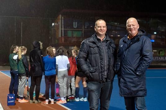 Het succes van Upward is te danken aan de twee 'vaders' Ard van Anken (links) en Jaap Koopmans (rechts).