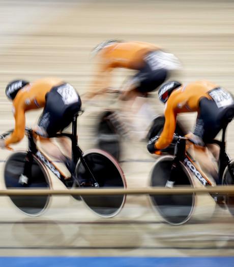 Teamsprinters grijpen wereldtitel in verbluffend wereldrecord