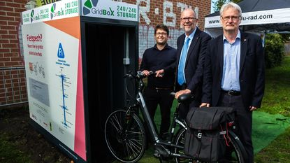 Eerste fietskluis van provincie staat in Kontich-Kazerne