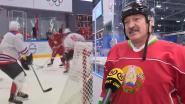 """""""Er zijn hier geen virussen"""": president Wit-Rusland doet mee aan ijshockeytoernooi"""