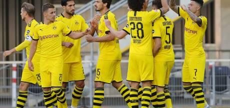 Un but et un assist pour Thorgan Hazard, un assist pour Witsel lors du carton de Dortmund