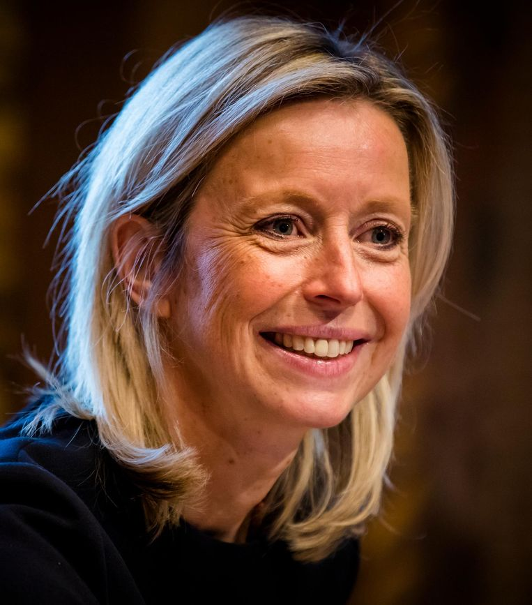 Minister van Binnenlandse Zaken, Kajsa Ollongren. Beeld anp