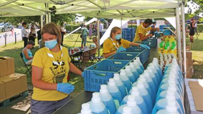 Jeugdbewegingen krijgen gratis mondmaskers en ontmettingsgel mee op kamp