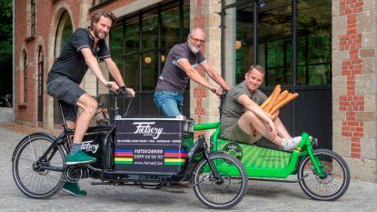Fietserij bezorgt pakketjes met eigen fietskoerierdienst