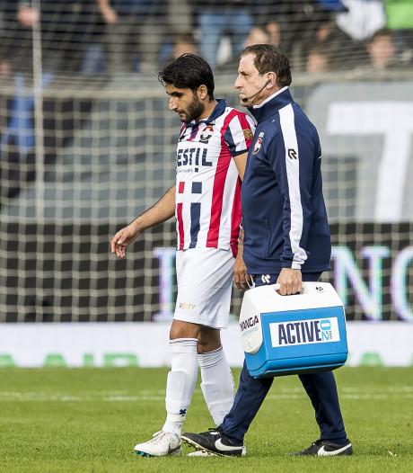 Willem II'er Özbiliz niet op tijd fit voor duel met NAC