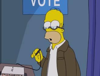 'The Simpsons' mengen zich in verkiezingen: 50 redenen om niét op Trump te stemmen