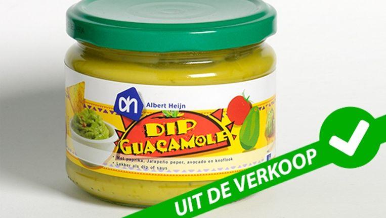 De guacamole-dip is uit de schappen gehaald Beeld Consumentenbond