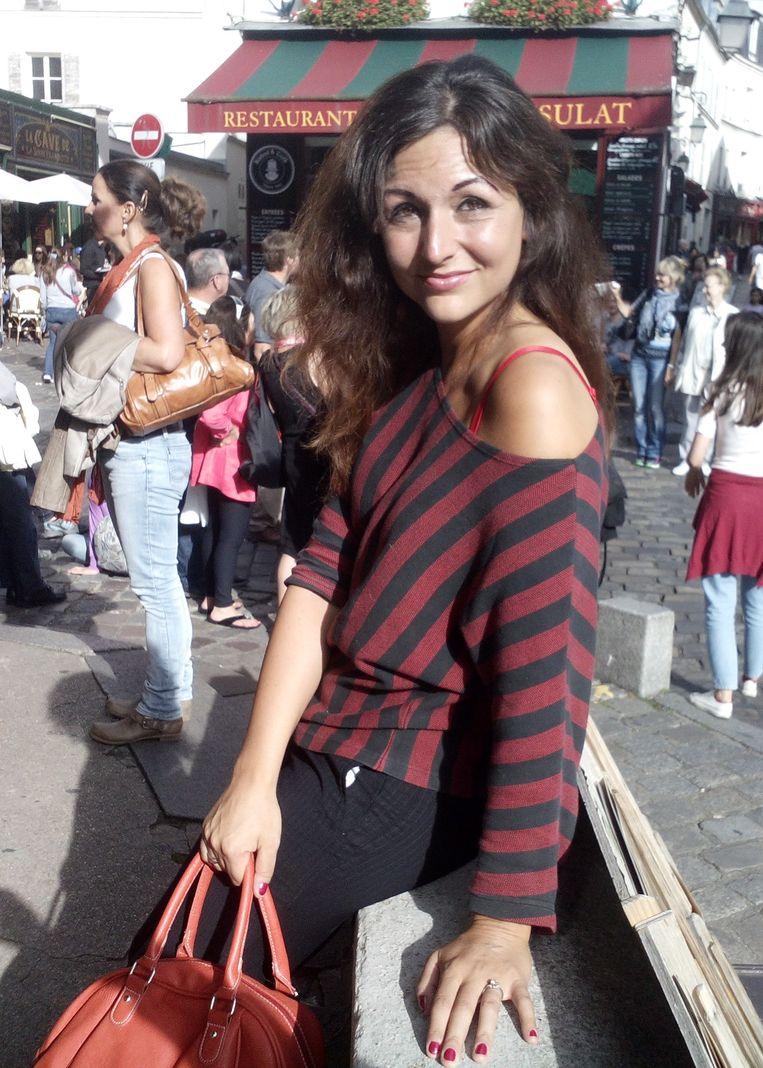 Dina-Perla de Winter: 'Niet-joden waren gevaarlijk, was de boodschap.' Beeld aangeleverd door Dina-Perla RV