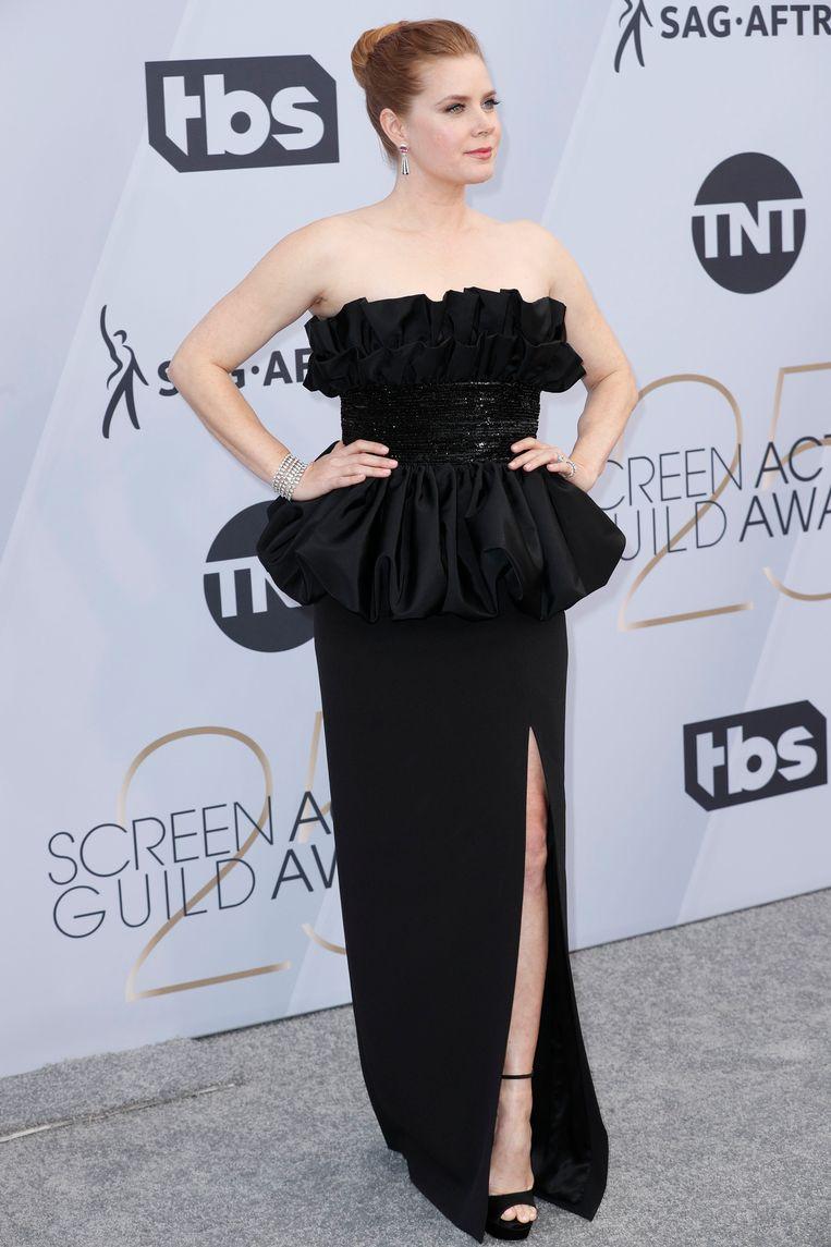 Amy Adamsin a dress by Celine